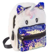 Animal Fur Backpack - Unicorn
