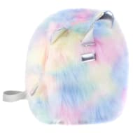 Rainbow Fur Backpack