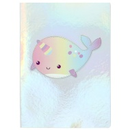 A5 Power Lux Notebook - Narwhal