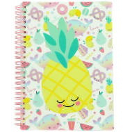 A5 Power Glitter Notebook - Pineapple