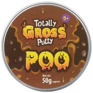 Totally Gross Putty 50g - Poo
