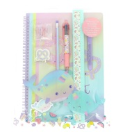 Narwhal Power Lux Stationery Set 11pc