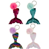 Mermaid Sequin Keyring - Multi