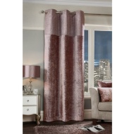 "Sparkle Crushed Velvet Thermal Lined Panel 54 x 86"" - Blush"