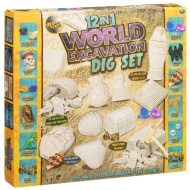 12-in-1 World Excavation Dig Set