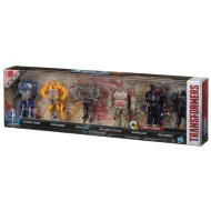 Transformers Turbo Changers Action Figures 6pk