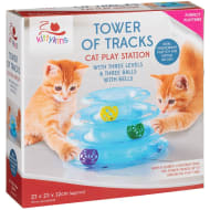 Tower of Tracks Cat Play Station