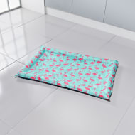 Anti-Bug Cooling Crate Mat - Flamingo