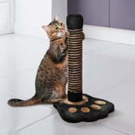 Cat Scratching Post - Black