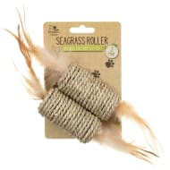 Natural Instinct Cat Toy 2pk - Seagrass Roller