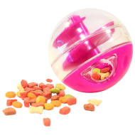 Cat Treat Ball - Pink