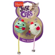 Hartz Just for Cats Toy 2pk - Bell Mouse
