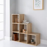 Lokken 1-2-3 Shelving Unit - Oak