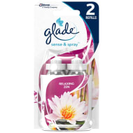 Glade Sense & Spray Refill 2pk - Relaxing Zen
