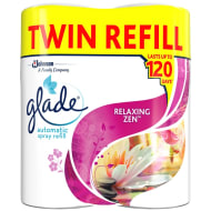 Glade Automatic Spray Refill 2pk - Relaxing Zen