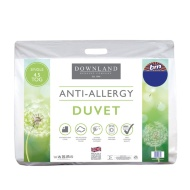 Downland Anti-Allergy 4.5 Tog Duvet - Single