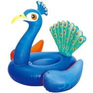 Inflatable 3D Peacock Pool Ride On
