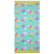 Kids Beach Towel - Ice Lollies