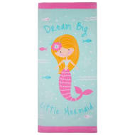 Kids Beach Towel - Mermaid
