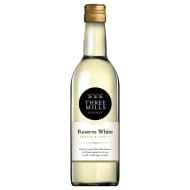 Three Mills Reserve White Wine 187ml