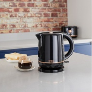 Tower Kettle - Black & Rose Gold