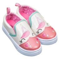 Girls Unicorn Canvas Shoes