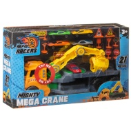 Rapid Racers Mighty Mega Crane Set 21pk