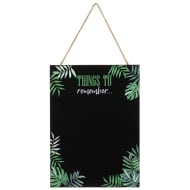 Tropical Leaf Chalkboard