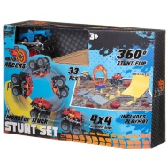 Monster Truck Stunt Set - Blue