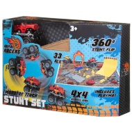 Monster Truck Stunt Set - Red