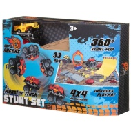 Monster Truck Stunt Set - Yellow
