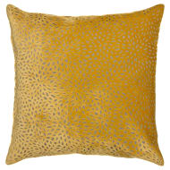 Westminster Velvet Cushion - Ochre