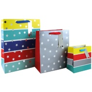 Size Assorted Gift Bags 3pk - Stars
