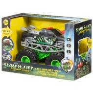 Slam & Lift Monster Truck - Green