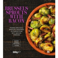 Brussels Sprouts with Bacon 500g
