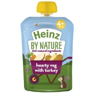 Heinz By Nature Pouch 100g - Hearty Veg with Turkey