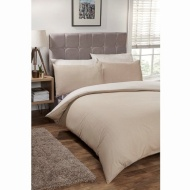 Silentnight Reversible King Duvet Set - Mink