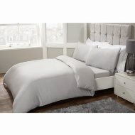 Silentnight Complete Double Bedding Set - Silver