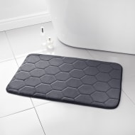 Midnight Memory Foam Bath Mat - Charcoal