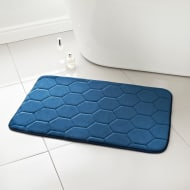 Midnight Memory Foam Bath Mat - Navy