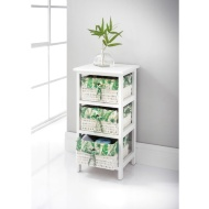 Juliet Tropical 3 Drawer Chest