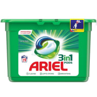 Ariel 3-in-1 Laundry Pods 19pk
