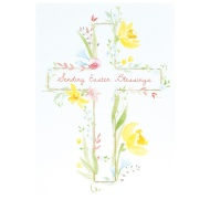 Sending Easter Blessings - Easter Card