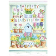 Happy Easter Garden - Easter Card