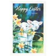 Easter Lambs - Easter Card