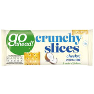 Go Ahead! Crunchy Slices 5pk - Cheeky Coconut