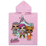 Kids LOL Dolls Hooded Poncho