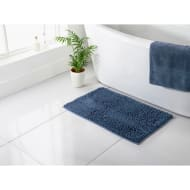 Signature Microfibre Noodle Bath Mat - Denim