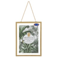67c206fd818 Gold Hanging Picture Frame 4 x 6