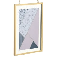Gold Hanging Picture Frame 4 x 6
